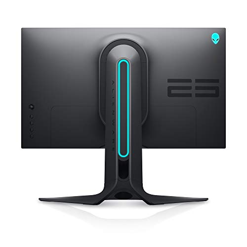 Alienware 240Hz Gaming Monitor 24.5 Inch Full HD Monitor with IPS Technology, Dark Gray - Dark Side of the Moon - AW2521HF