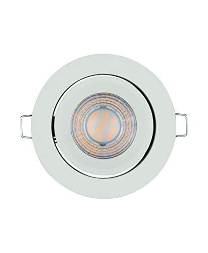 LEDVANCE LED Einbaustrahler, Leuchte für Innenanwendungen, Warmweiß, Stufenlos Dimmbar per Wandschalter, spot Set ADJ Simpe DIM