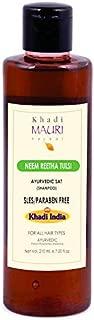 Khadi Mauri Herbal Neem Reetha Tulsi - SLES & PARABEN FREE - 210 ml