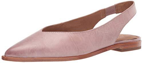 FRYE Women's Kenzie Slingback Ballet Flat, Lilac, 8.5 M US