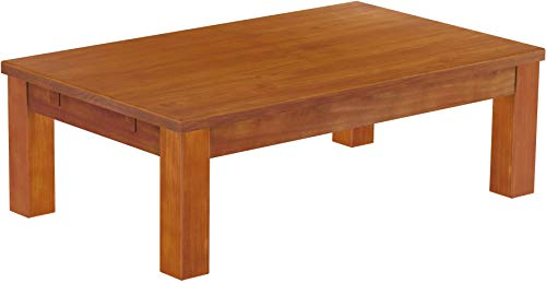Brasilmöbel Couchtisch Rio Classico 120x73 cm Kirschbaum Wohnzimmertisch Holz Tisch Pinie Massivholz Stubentisch Beistelltisch Echtholz Größe und Farbe wählbar