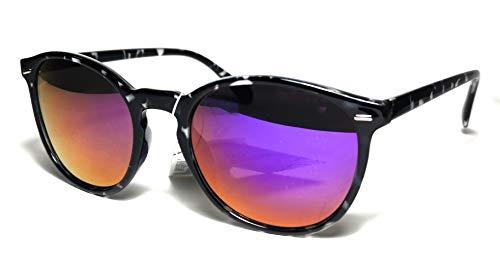 FIKO MOSCOW COOL Gafas de Sol Polarizadas WAVE Johnny Depp, Fashion, Cult, Vintage, Hombre, Mujer, Redondo, Unisex