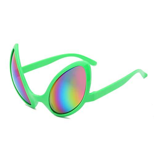 Irjdksd - Gafas de sol para disfraz de A-liens
