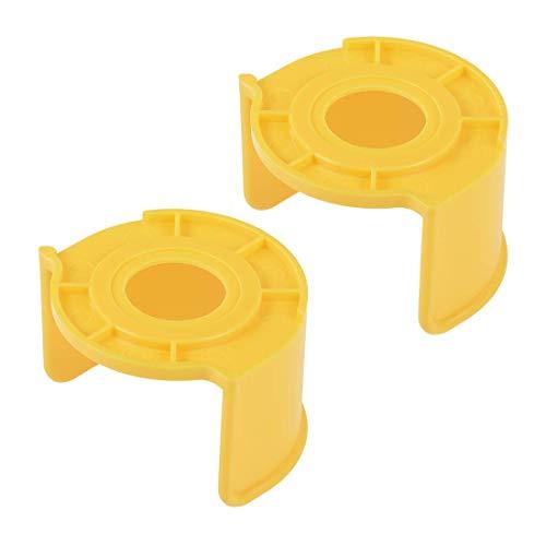 YeVhear - Interruptor de parada de emergencia (plástico, 25 mm, 2 unidades), color naranja