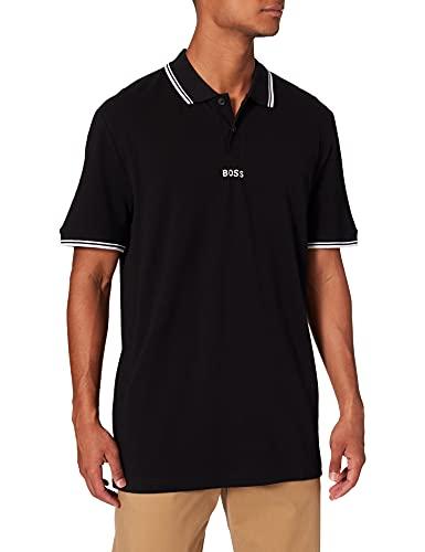 BOSS Mens PChup 1 10191116 01 Polo Shirt, Black1, L