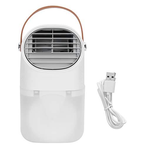 Rosvola Ventilador de Aire Acondicionado, Ventilador de Aire Acondicionado portátil, Escritorio USB para Dormitorio, Sala de Estar, Aire Acondicionado pequeño, Ventilador de Escritorio, Uso en el