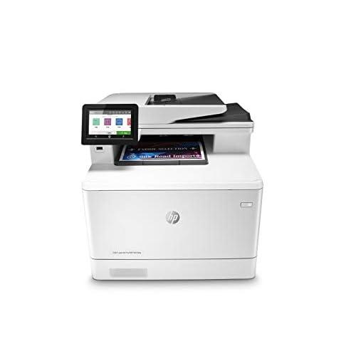 HP Color LaserJet Pro MFP M479dw W1A77A, Stampante Multifunzione 3 in 1, Stampa, copia, scansiona, Wi-Fi, Wi-Fi Direct, Ethernet, USB Host, ADF, formato A4, HP Smart, Bianca