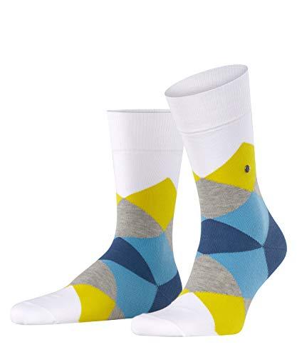 BURLINGTON Herren Socken Clyde - Baumwollmischung, 1 Paar, weiss (white 2002), 40-46