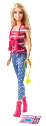 Mattel Barbie Life in The Dreamhouse: The Amaze Chase Camping Barbie Doll