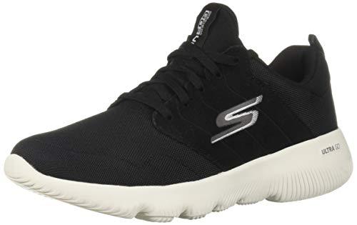 Skechers Women's GO Run FOCUS-15161 Sneaker, Black, 5 M US