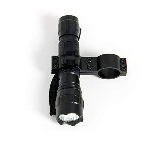 LVLing Waterproof Portable Combo Ultra Bright Tactical LED Flashlight with Quick Release Mount for 1  Tube 12 Gauge Mag. Mossberg 500