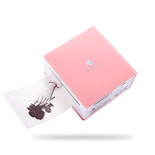 Phomemo M02 Mini Taschendrucker für iOS and Android Smartphone Bluetooth Sticker Drucker Handydrucker Mobiler Thermodrucker Etikettendrucker für Unterwegs