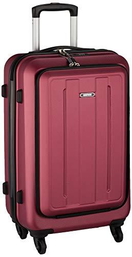 [マンハッタンエクスプレス] スーツケース ジッパー フロントオープン 42L 63 cm 3.6kg ワイン