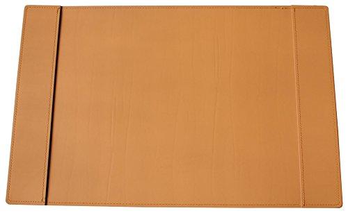 Kim grúa holdt vade de gran calidad de piel regenerada, 58x 38cm Con compartimentos, color marrón