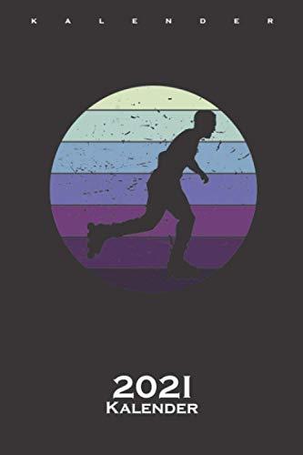 Inline Skating Retro Kalender 2021: Jahreskalender für alle Liebhaber und Fans des schnellen Sports auf Rädern