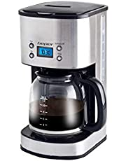 Beper 90.520 Maquina de café, Acero Inoxidable, Plateado y Negro