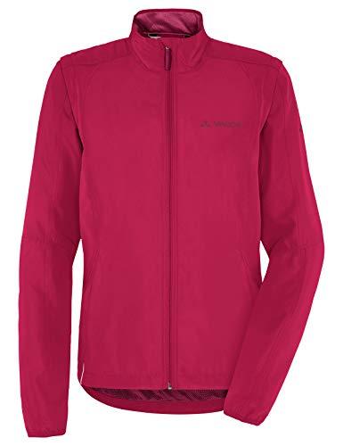 VAUDE Damen Jacke Women's Dundee Classic ZO Jacket, Windjacke zum Radfahren, crimson red, 44, 068179770500