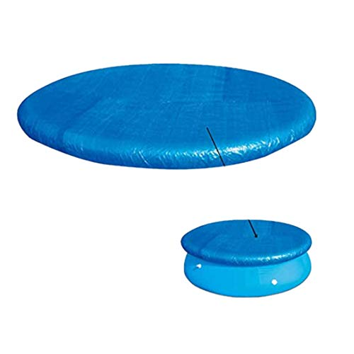 ViYW Round Solar Blanket for Above Ground Pools,Safety Swimming Pool Covers Large Winter Pool Covers (Round04, 300300cm)