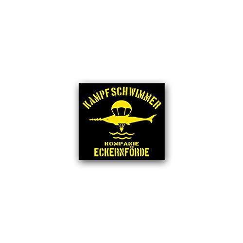 Aufkleber/Sticker Kampfschwimmer Kp Eckernförde Marine Taucher 8x7cm A2143