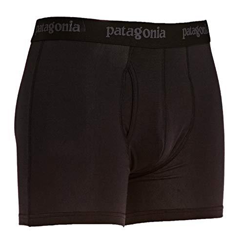 Patagonia M's Essential Boxer Briefs-3 In. Boxershorts, Herren M schwarz