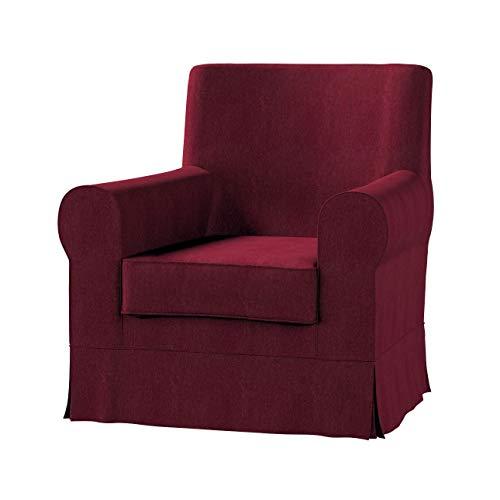 Dekoria Ektorp Jennylund Sesselbezug Sofahusse passend für IKEA Modell Ektorp Bordeaux