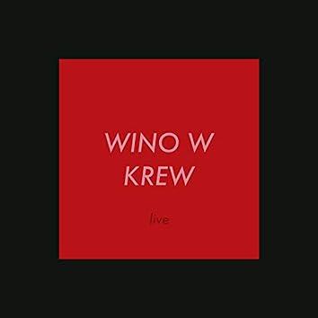 Wino w krew (live)