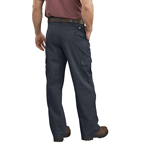Dickies - 23-214 Cargo Pant, Rinsed Dark Navy, 40W x 30L