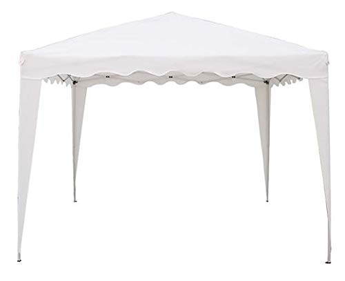 Bricogarden - Cenador plegable, 3 x 2 m, color blanco