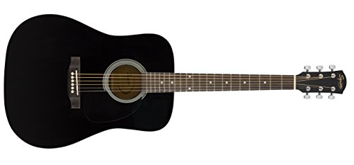 Squier SA-150N Squier Beginner Nylon String Classical Acoustic Guitar - Gloss Black Finish