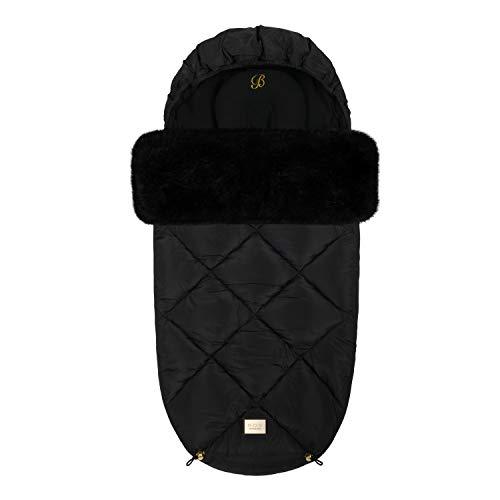 Bjällra Of Sweden Black Diamond 8069907 - Saco para pies (1200 g), color negro