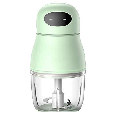 WJH9 Bewegliches Baby Automatische Mini-Schleifer und Agitator, Multifunktions-Mud abnehmbares Design für eine einfache Reinigung, Edelstahl-Schnittstelle, Low Noise, Grün
