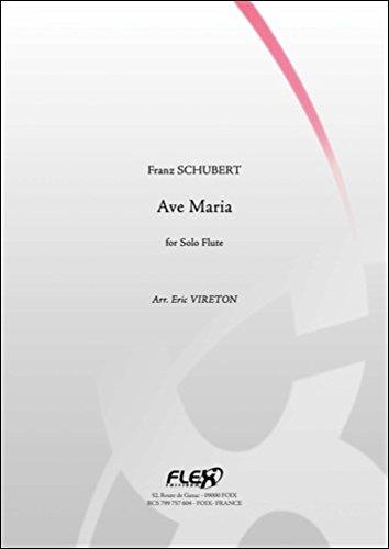 KLASSICHE NOTEN - Ave Maria - F. SCHUBERT - Solo Flute