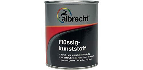 Albrecht Flüssigkunststoff Seidenglänzend Innen/Außen 2,5 Liter Farbwahl, Farbe (RAL):weiß
