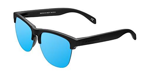 Lila Negro Gafas de Sol Polarizadas para Hombre y Mujer Northweek Regular Bipper