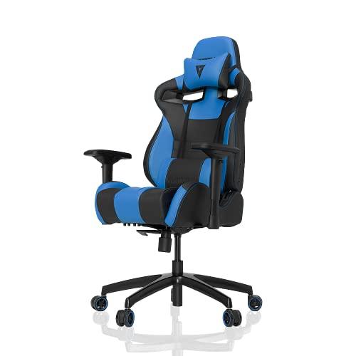 VERTAGEAR Gaming Racing Seat Office Ergonomic Computer High Back Executive Chairs, S-Line Medium SL4000 BIFMA Cert, Black/Blue