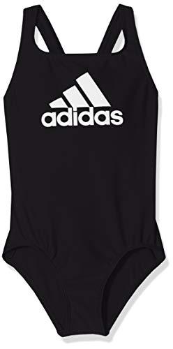 adidas Mädchen Badge of Sport Badeanzug, Black, 152