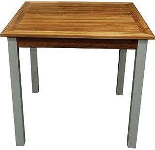 Winware Table en teck et aluminium.