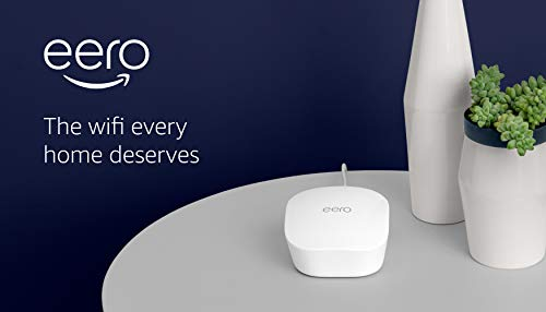 Amazon eero mesh wifi router 12 fast standalone router - the eero mesh wifi router brings up to 1,500 sq. Ft. Of fast, reliable wifi to your home. Works with alexa - with eero and an alexa device (not included) you can easily manage wifi access for devices and individuals in the home, taking focus away from screens and back to what's important. Easily expand your system - with cross-compatible hardware, you can add eero products as your needs change.