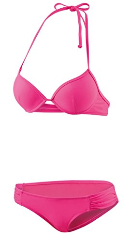 Beco Beermann GmbH & Co. KG Damen Sweetheart Halter Bikini-Set, neon-pink, 36