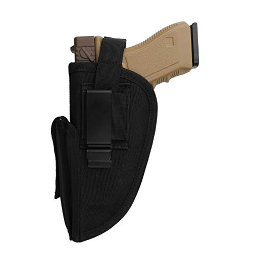 Evensport Concealed Carry Holster, Gun Holsters Concealed with Magazine Pouch, Gun Pistol Holster for Left/Right Hand Carry