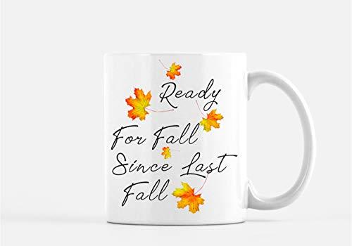 Herfst Mok Klaar voor Herfst Koffie Mok Pompoen Spice Mok Gelukkig Herfst Decor Aangepaste Herfst Mok Apple Cider Mok Bladeren Mok Oktober Mok