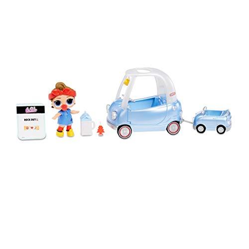 L.O.L. Surprise! - Set Furniture per viaggio in auto, con bambola Can Do e oltre 10 sorprese, 564928E7C