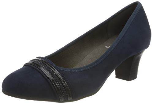 Jana Softline Damen 8-8-22474-25 Pumpe, Navy, 40 EU