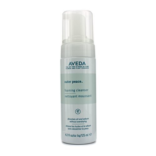 Aveda, Cleanser Outer Peace Foaming Cleanser For Women, Rose, 4.2 Fl Oz