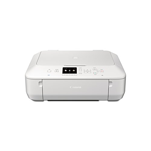 CANON PIXMA MG5620 WIRELESS ALL-IN-ONE COLOR CLOUD Printer with Scanner, Copier and AirPrint(TM) Compatible, White (Tablet Ready)