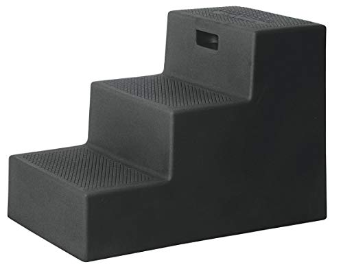 High Country Plastics MS-22BK Three Mounting Step, 22', Black