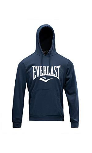Everlast Sports Chaqueta con Capucha de Skateboarding, Azul Marino, XL para Hombre