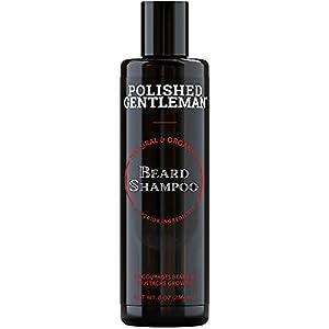 Beard Growth and Thickening Shampoo - with Biotin and Organic Beard Oil - Facial Hair Growth Shampoo - Natural Beard… 2