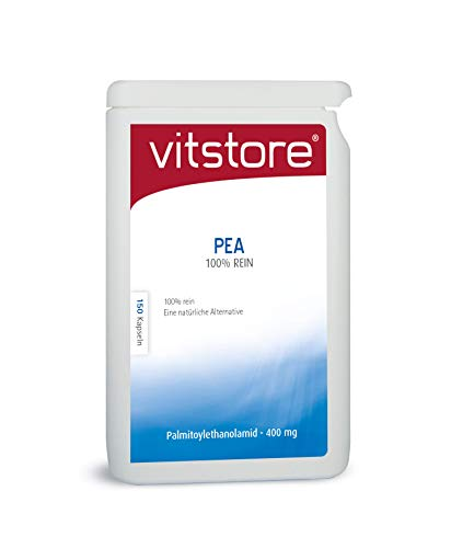 Vitstore PEA 100% Pur 150 Kapseln 400mg Palmitoylethanolamid - Pea pure Kapseln 400 mg (150)