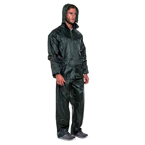Norain regenbescherming regenjas nylon kleur groen maat XL